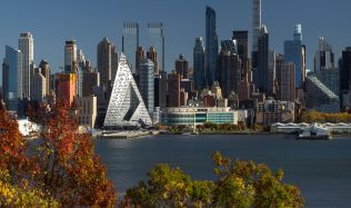 West 57th Street Residential Building in New York by BIG