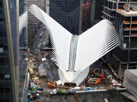 World Trade Center Transportation Hub, New York, USA
