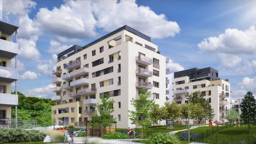 YIT staví další etapy rezidenčního komplexu Suomi Hloubětín