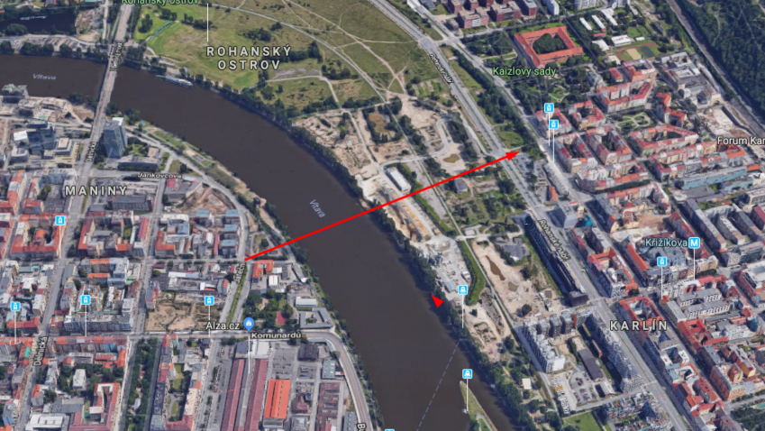 Z Karlína do Holešovic za pár minut, přes Rohanský most