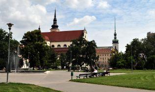 Z Moravského náměstí v Brně bude odpočinková zóna