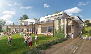 Z pera architektů: školka budoucnosti propojí modernu s přírodou
