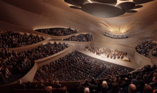 Zaha Hadid Architects wins competition to build Sverdlovsk Philharmonic Concert Hall in Yekaterinburg, Russia