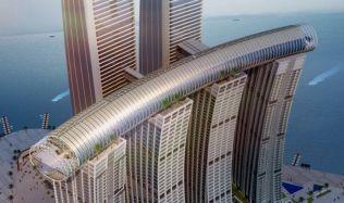 Zahrada v oblacích: Safdie Architects plní sny z říše pohádek