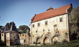 Zámek Červená Řečice prochází rozsáhlou rekonstrukcí