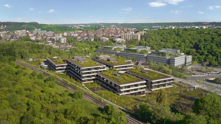 Zelené střechy jsou čím dál populárnější, jejich plocha se už zdvojnásobila